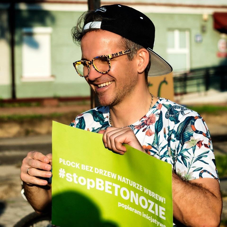 Arek Gmurczyk z Płocka do Sejmu